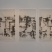 3x encre sur papier chinois 46x65cm